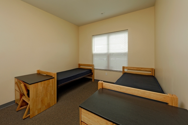 Each Dorm Room Allows For Fresh Air, Daylight and Quiet Surroundings resulting in maximum comfort for the students